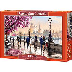 CASTORLAND Puzzle 2000 el. mix wzorów (3)