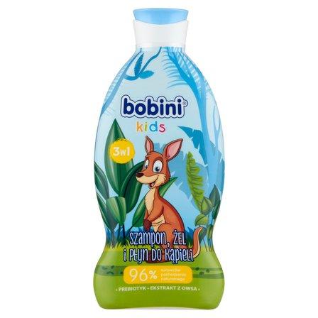 BOBINI 3w1 Szampon żel i płyn do kąpieli Super bohater (1)