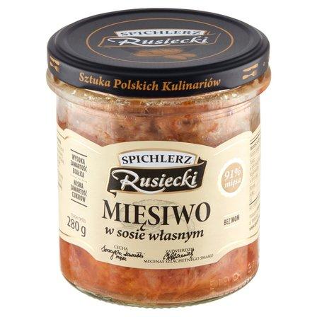 SPICHLERZ RUSIECKI Mięsiwo w sosie własnym (1)