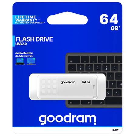GOODRAM Pendrive 64GB USB 2.0 UME2 biały (3)