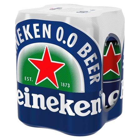 HEINEKEN Piwo jasne bezalkoholowe (4 x 500 ml) (1)