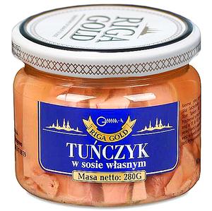 RIGA GOLD Tuńczyk w sosie własnym (1)