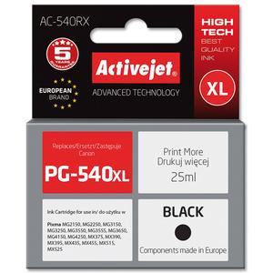 ACTIVEJET AC-540RX Tusz do drukarki Canon zastępuje tusz Canon PG-540XL czarny (1)