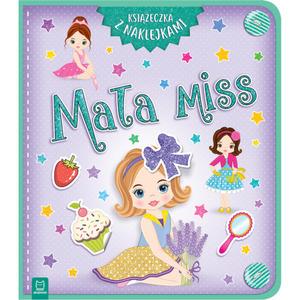 AKSJOMAT Mała miss. Książeczka z naklejkami (okładka miękka) (1)