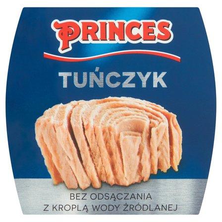PRINCES Tuńczyk bez odsączania z kroplą wody źródlanej (2)