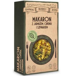 DANIA BABCI ZOSI Makaron z jarmużem cukinią i szpinakiem (1)
