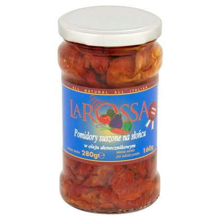 LA ROSSA Pomidory suszone na słońcu w oleju słonecznikowym (3)