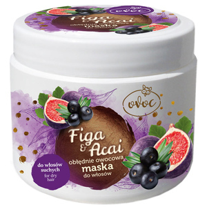 OVOC Maska do włosów Figa i Jagoda Acai (1)