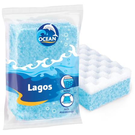 OCEAN Lagos Gąbka do kąpieli i masażu (1)