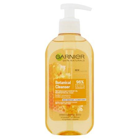 GARNIER Botanical Cleanser Miód kwiatowy Przywracający komfort żel do skóry suchej i bardzo suchej (1)