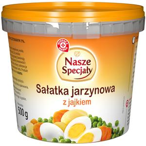 WIODĄCA MARKA Nasze Specjały Sałatka jarzynowa z jajkiem (1)