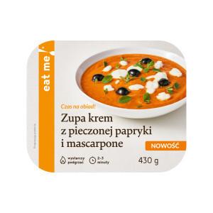 EAT ME! Zupa krem z pieczonej papryki i mascarpone (1)