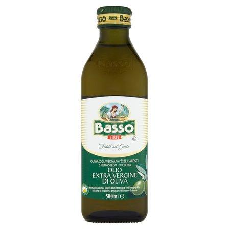 BASSO Oliwa z oliwek najwyższej jakości z pierwszego tłoczenia (1)