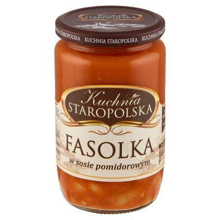 KUCHNIA STAROPOLSKA Fasolka w sosie pomidorowym (1)