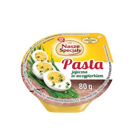 WIODĄCA MARKA Nasze Specjały Pasta jajeczna ze szczypiorkiem (1)