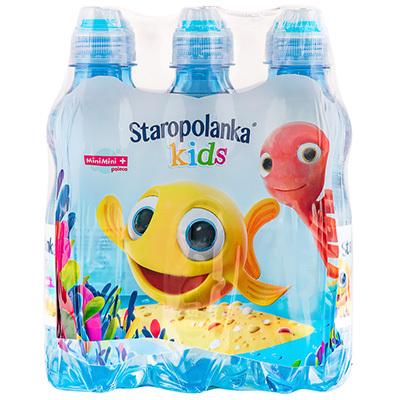STAROPOLANKA Kids Woda źródlana niegazowana (9x330ml) (1)