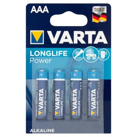 VARTA Longlife Power AAA LR03 1,5 V Bateria alkaliczna (1)