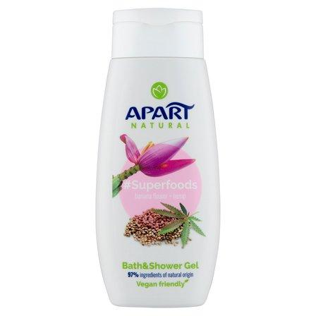 APART Natural Superfoods Banana Flower & Hemp Żel pod prysznic i do kąpieli (1)