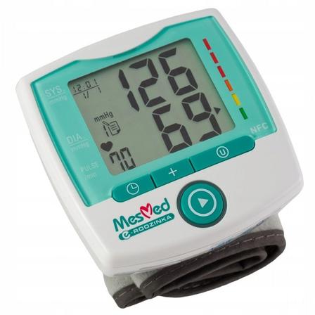 MESMED Ciśnieniomierz nadgarstkowy MM245 NFC Erinte (1)