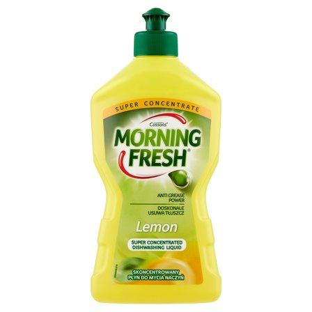 MORNING FRESH Lemon Skoncentrowany płyn do mycia naczyń (1)
