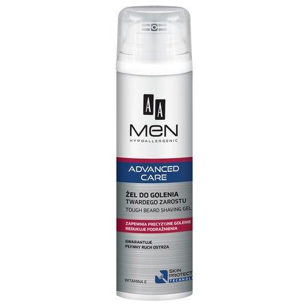 AA Men Advanced Care Żel do golenia twardego zarostu (1)