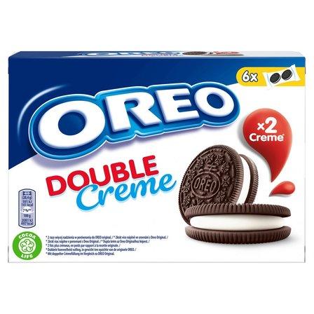 OREO Double Ciastka kakaowe z nadzieniem o smaku waniliowym (12 szt.) (3)