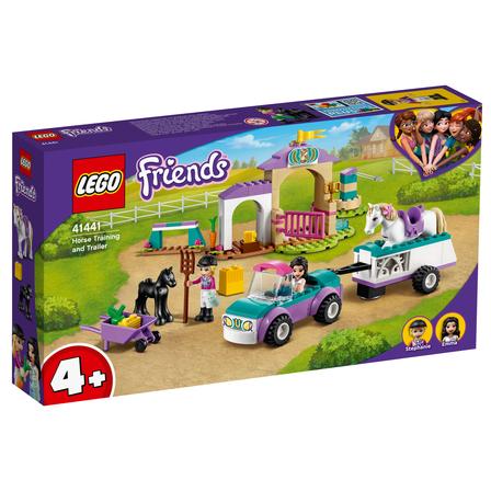 LEGO Friends Szkółka jeździecka i przyczepa dla konia 41441 (4+) (1)