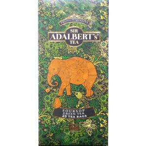 ADALBERT'S Soursop Green Tea Herbata zielona z wyciągiem z soursop (25 tb.) (1)