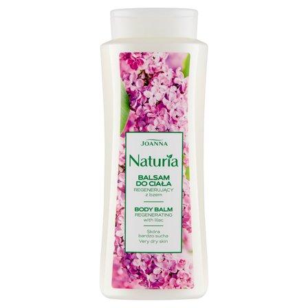 JOANNA Naturia Balsam do ciała regenerujący z bzem (1)