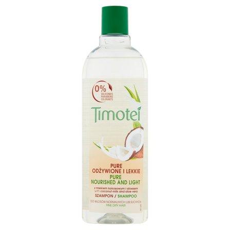 TIMOTEI Pure Odżywione i Lekkie Szampon do włosów (1)