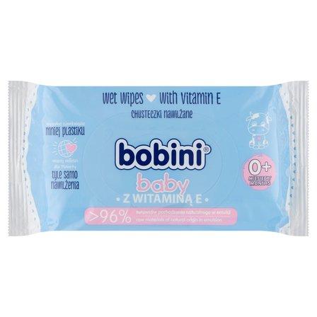 BOBINI Baby Chusteczki nawilżane z witaminą E (1)