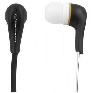 ESPERANZA Słuchawki douszne Stereo Lollipop EH146K czarny (1)