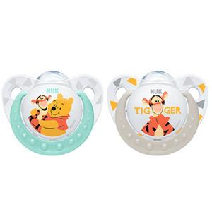 NUK Disney Kubuś Puchatek Silikonowy smoczek uspokajający (6-18 miesięcy) (3)
