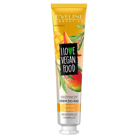 EVELINE I Love Vegan Food Odżywczy krem do rąk mango & szałwia (1)