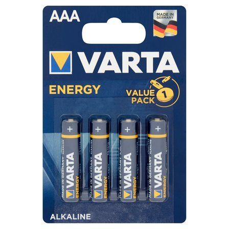 VARTA Energy AAA LR03 1,5 V Bateria alkaliczna (2)