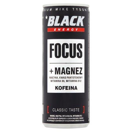 Black Energy Focus Gazowany napój energetyzujący (2)