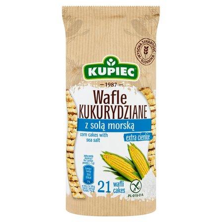 KUPIEC Wafle kukurydziane z solą morską (21 sztuk) (1)