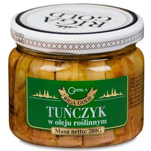 RIGA GOLD Tuńczyk w oleju roślinnym (1)