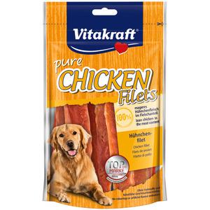 VITAKRAFT Paski kurczaka o niskiej zawartości tłuszczu dla psa (1)