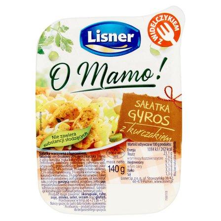 LISNER O Mamo! Sałatka gyros z kurczakiem (2)
