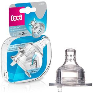 LOVI Super vent Dynamiczny smoczek do karmienia średni 3m+ (1)