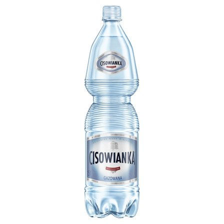 CISOWIANKA Naturalna woda mineralna gazowana niskosodowa (1)