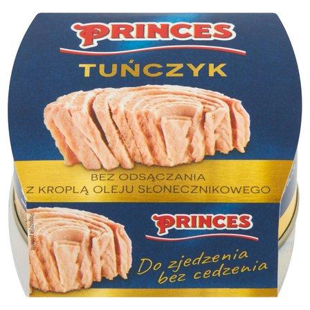 PRINCES Tuńczyk bez odsączania z kroplą oleju słonecznikowego (1)