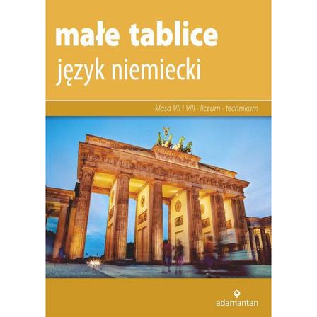 ADAMANTAN Małe tablice. Język niemiecki dla klas 7-8 oraz liceum i technikum (1)