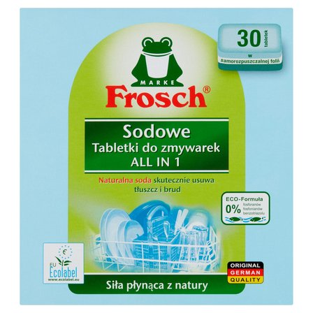 FROSCH Sodowe Tabletki do zmywarek (4)