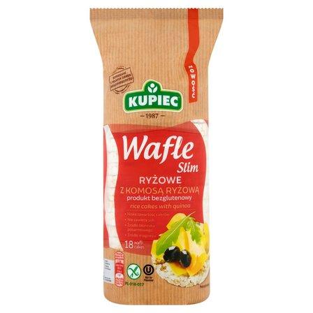 KUPIEC Slim Wafle ryżowe z komosą ryżową (18 sztuk) (1)