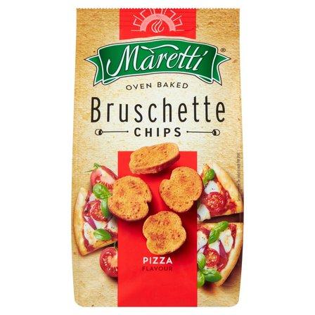 MARETTI Bruschette Pieczone krążki chlebowe o smaku pizzy (2)
