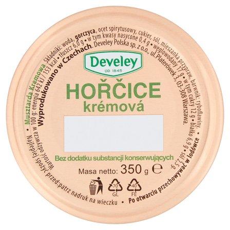 DEVELEY Hořčice Krémowá Musztarda kremowa (2)