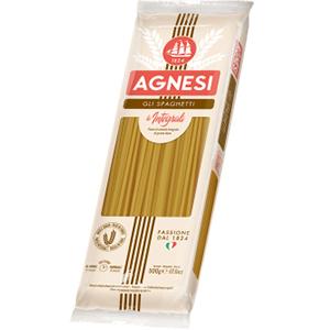 AGNESI Gli spaghetti Makaron spaghetti z pełnoziarnisty (1)