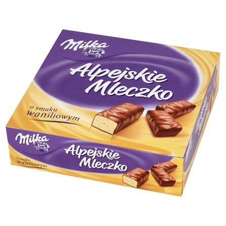 MILKA Alpejskie Mleczko Pianka o smaku waniliowym (1)